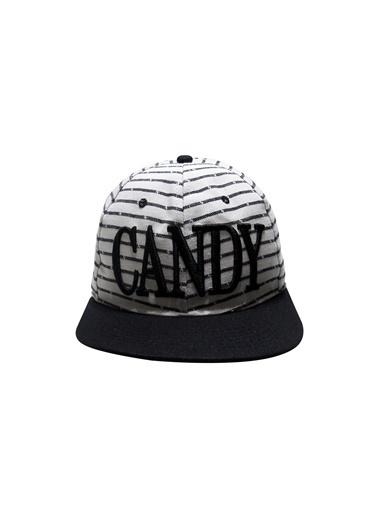 Laslusa CANDY Hip Hop Snapback Şapka Beyaz